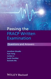 Cover of: Passing The Fracp Written Examination Questions And Answers