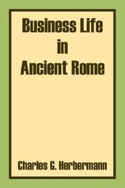 Cover of: Business Life in Ancient Rome