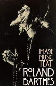 Cover of: Image-Music-Text
