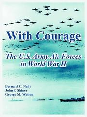 Cover of: With Courage | Bernard C. Nalty