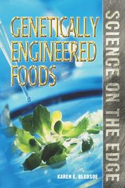 Cover of: Genetically engineered foods