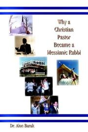 Cover of: Why a Christian Pastor Became a Messianic Rabbi