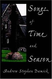 Cover of: Songs of Time and Season