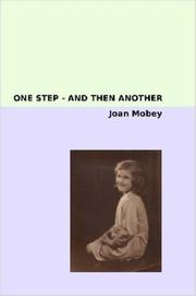 Cover of: One Step - and Then Another
