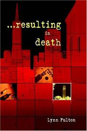 Cover of: Resulting in Death