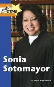 Cover of: Sonia Sotomayor
