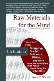 Cover of: Raw Materials for the Mind