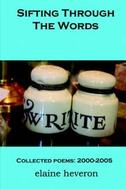 Cover of: Sifting Through The Words