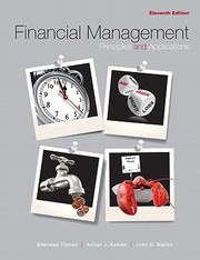 Cover of: Financial Management Principles And Applications Myfinancelab