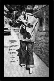 Cover of: The Morgantown Suite Poems