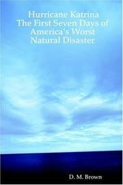 Cover of: Hurricane Katrina | D., M. Brown