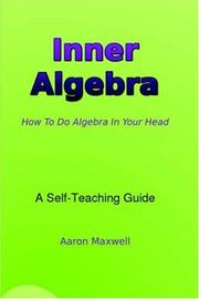 Cover of: Inner Algebra