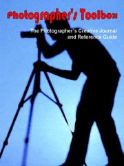Cover of: Photographer's Toolbox