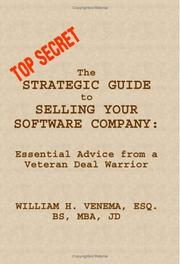 Cover of: The Strategic Guide to Selling Your Software Company