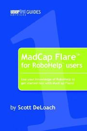 Cover of: MadCap Flare for RoboHelp Users