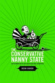 Cover of: The Conservative Nanny State