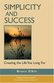 Cover of: Simplicity and Success