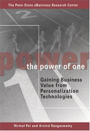 Cover of: The Power of One