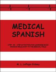 Cover of: Medical Spanish