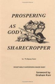 Cover of: Prospering as God\'s Sharecropper