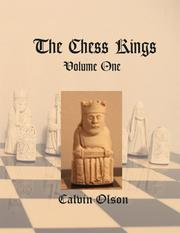 Cover of: The Chess Kings (Volume One)