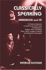 Cover of: Classically Speaking (with CD)
