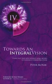 Cover of: Towards An Integral Vision