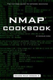 Cover of: Nmap Cookbook The Fatfree Guide To Network Scanning