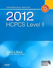 Cover of: 2012 Hcpcs Level Ii |