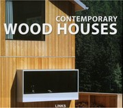 Cover of: Contemporary Wood Houses