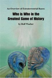 Cover of: An Overview of Extraterrestrial Races