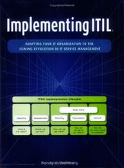 Cover of: Implementing ITIL