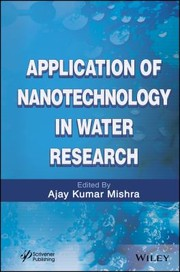 Cover of: Applications Of Nanotechnology In Water Research