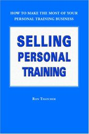 Cover of: Selling Personal Training