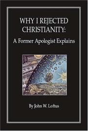 Cover of: Why I Rejected Christianity