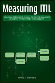 Cover of: Measuring ITIL