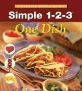 Cover of: Simple 1-2-3 One Dish (Internal Spiral) |