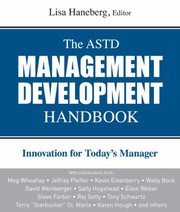 Cover of: The Astd Management Development Handbook Innovation For Todays Manager