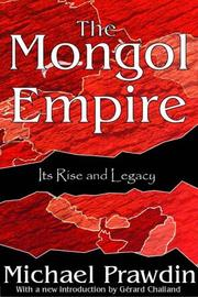 Cover of: Mongol empire | Michael Prawdin