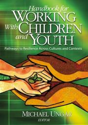 Cover of: Handbook for Working with Children and Youth | Michael Ungar