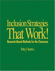 Cover of: Inclusion Strategies That Work!