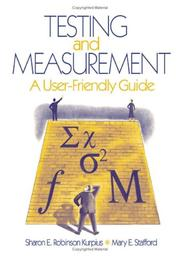Cover of: Testing and Measurement
