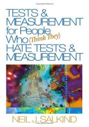 Cover of: Tests & Measurement for People Who (Think They) Hate Tests & Measurement