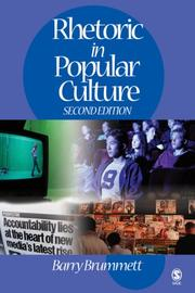 Cover of: Rhetoric in popular culture