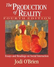 Cover of: The Production of Reality