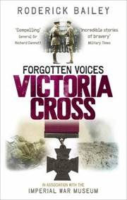 Cover of: Forgotten Voices Victoria Cross