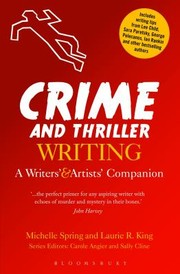 Cover of: Crime And Thriller Writing A Writers Artists Companion
