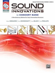 Cover of: Sound Innovations For Concert Band Book 2 A Revolutionary Method For Earlyintermediate Musicians Mallet Percussion
