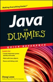 Cover of: Java For Dummies Quick Reference