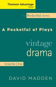 Cover of: Thomson Advantage Books: A Pocketful of Plays